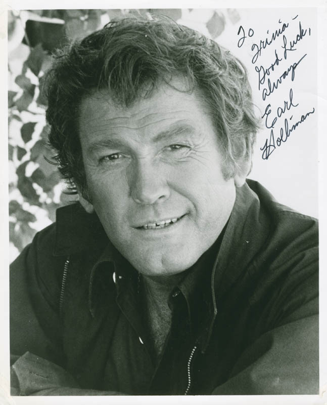Image 1 for Earl Holliman - Autographed Inscribed Photograph - HFSID 281640