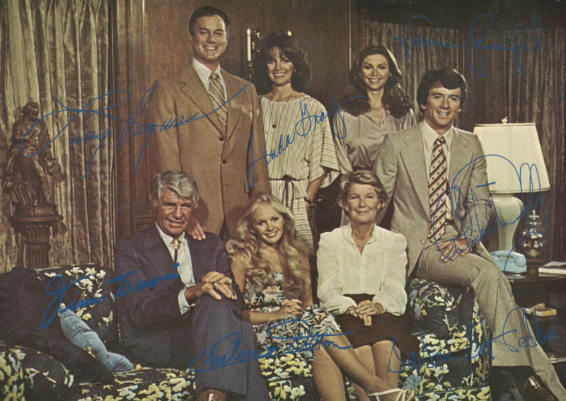 Image 1 for Dallas TV Cast - Photograph Unsigned - HFSID 281688