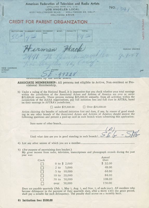 Image 4 for Herman Hack - Document Signed - HFSID 282246