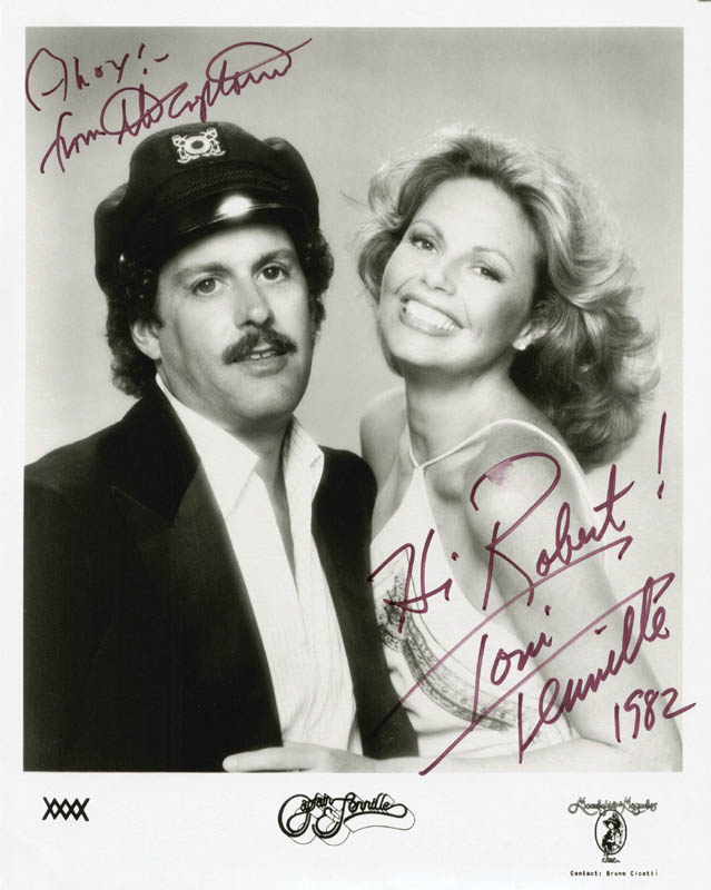 Image 1 for Captain & Tennille - Autographed Inscribed Photograph 1982 with co-signers - HFSID 2826