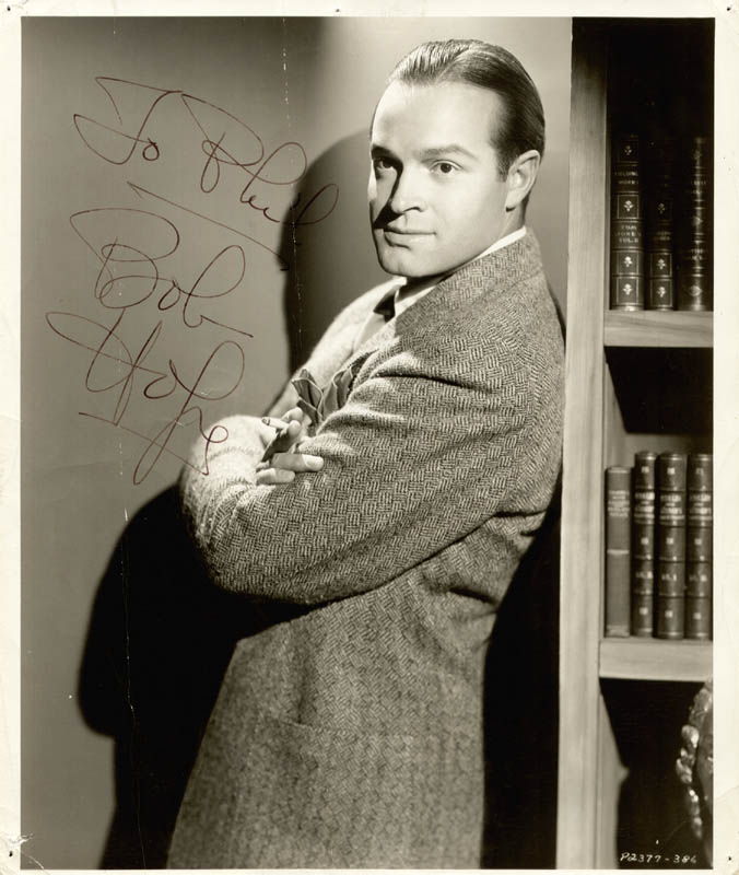 Image 1 for Bob Hope - Autographed Inscribed Photograph - HFSID 28263