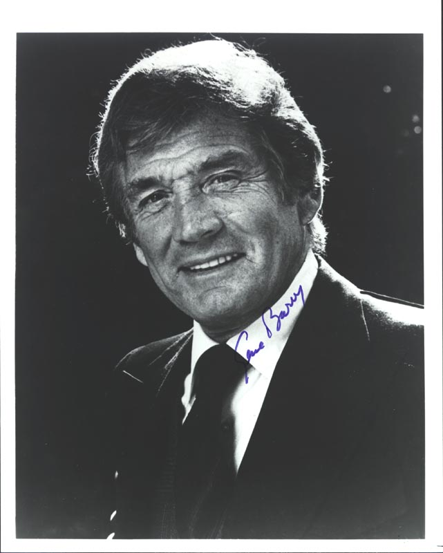 Image 1 for Gene Barry - Autographed Signed Photograph - HFSID 2827