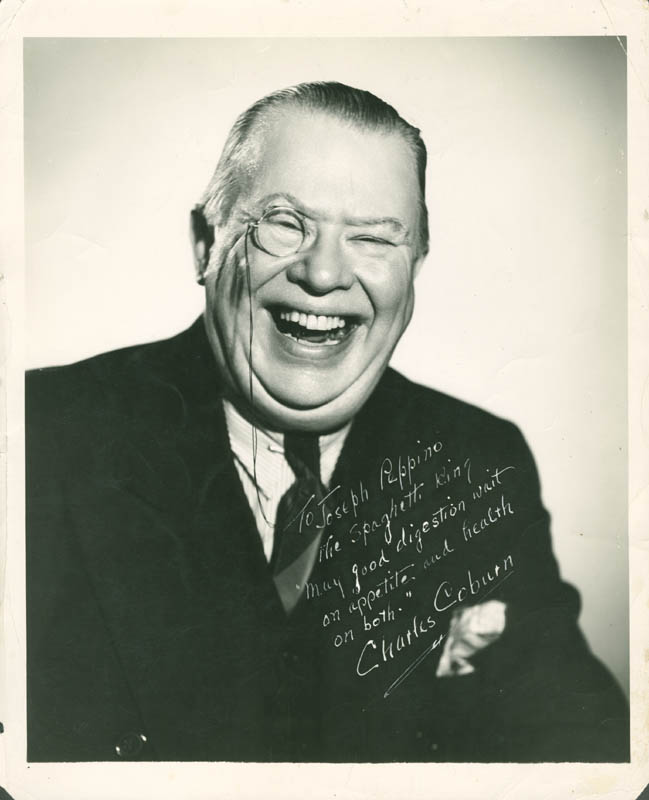 Image 1 for Charles D. Coburn - Autographed Inscribed Photograph - HFSID 282788