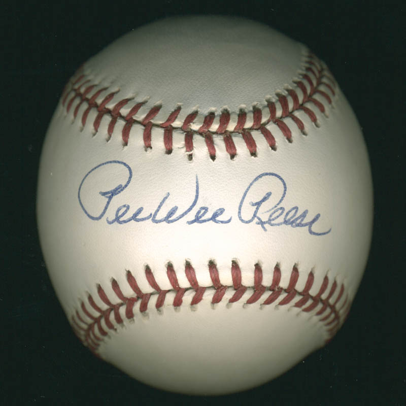 Image 1 for Pee Wee Reese - Autographed Signed Baseball - HFSID 282939