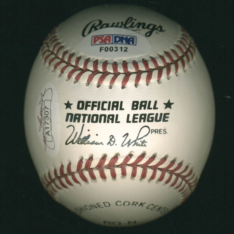 Image 3 for Pee Wee Reese - Autographed Signed Baseball - HFSID 282939