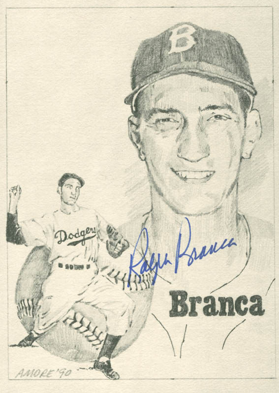 Image 1 for Ralph 'Hawk' Branca - Printed Art Signed In Ink - HFSID 282991