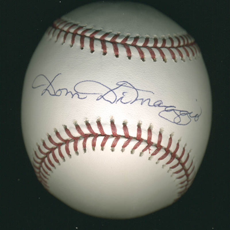 Image 1 for Dom Dimaggio - Autographed Signed Baseball - HFSID 283015