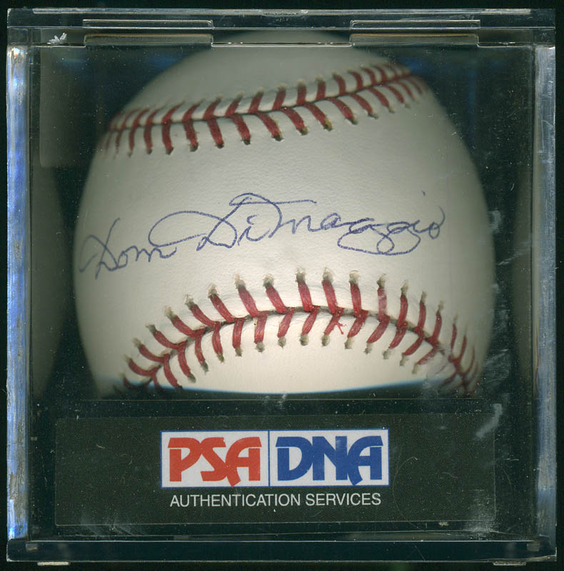 Image 4 for Dom Dimaggio - Autographed Signed Baseball - HFSID 283015