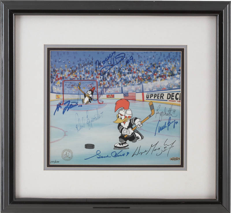 Image 1 for 500 Goal Scorers - Printed Art Signed with co-signers - HFSID 283016