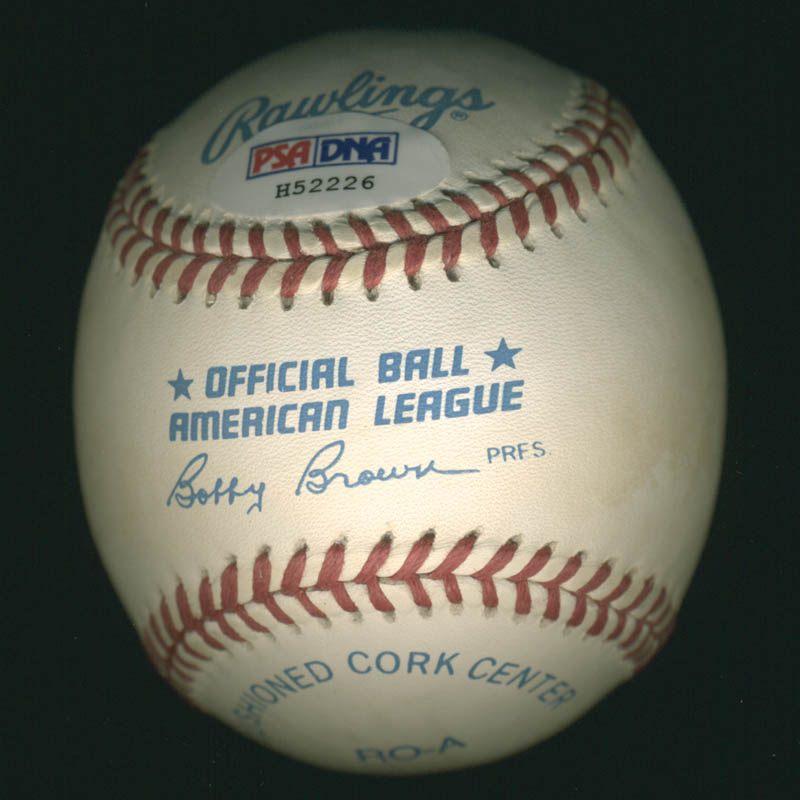 Image 3 for Phil Rizzuto - Autographed Signed Baseball - HFSID 283042