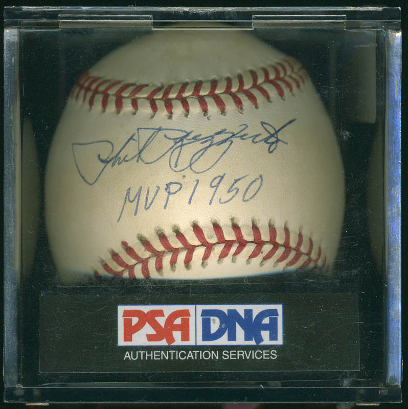 Image 4 for Phil Rizzuto - Autographed Signed Baseball - HFSID 283042