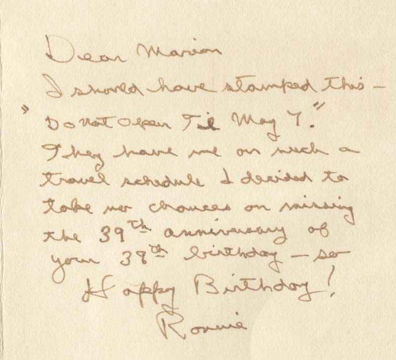 Image 3 for President Ronald Reagan - Autograph Letter Signed - HFSID 283377