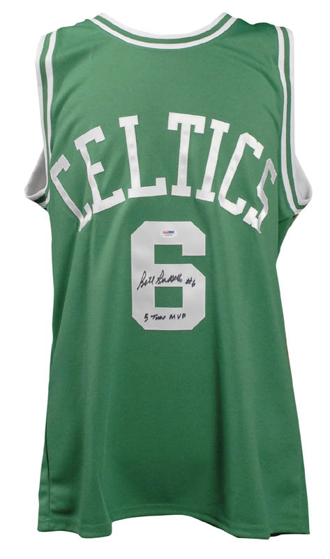 Image 1 for Bill Russell - Jersey Signed - HFSID 283418