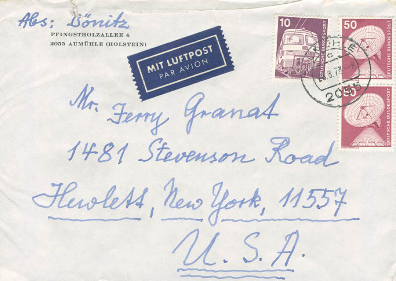 Image 4 for Grand Admiral Karl Donitz - Autograph Letter Signed 08/26/1978 - HFSID 283423
