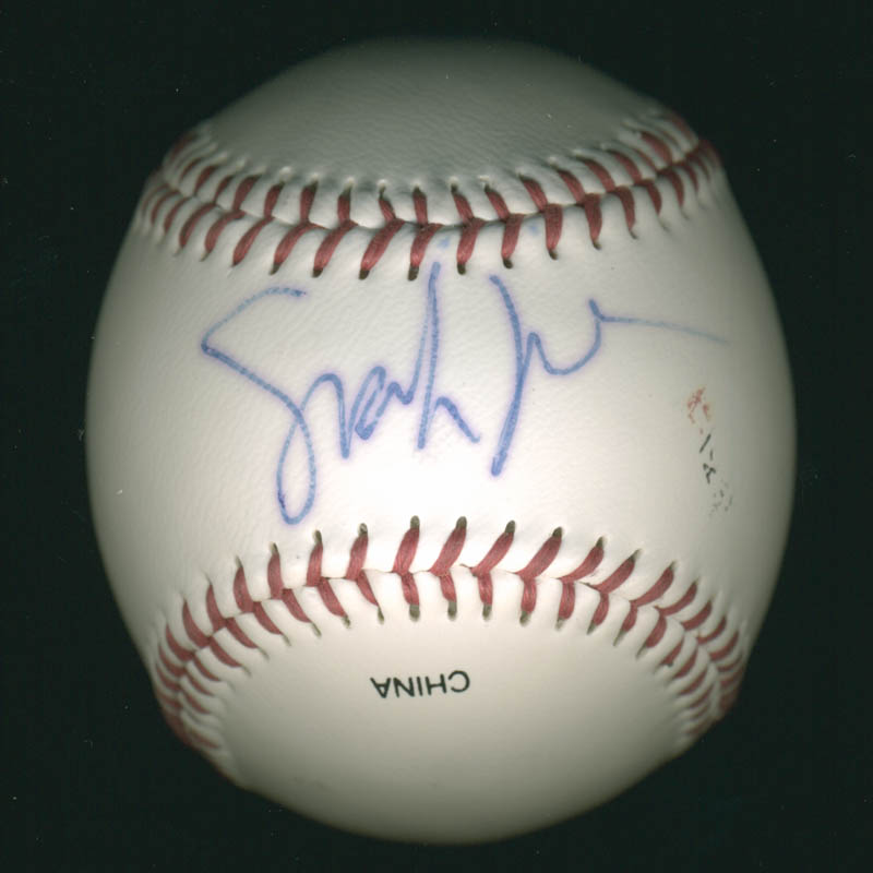 Image 1 for Spike Lee - Autographed Signed Baseball - HFSID 283642