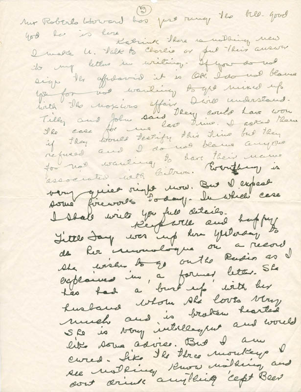 Image 4 for W. C. Fields - Autograph Letter Signed - HFSID 283831