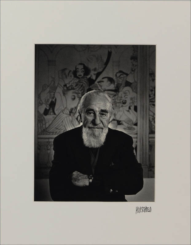 Image 1 for Al Hirschfeld - Photograph Mount Signed - HFSID 283901