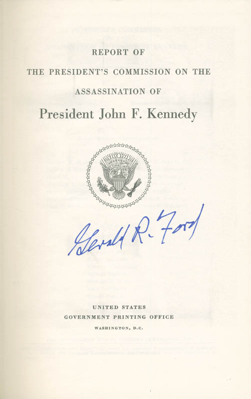Image 1 for President Gerald R. Ford - Book Signed - HFSID 283913