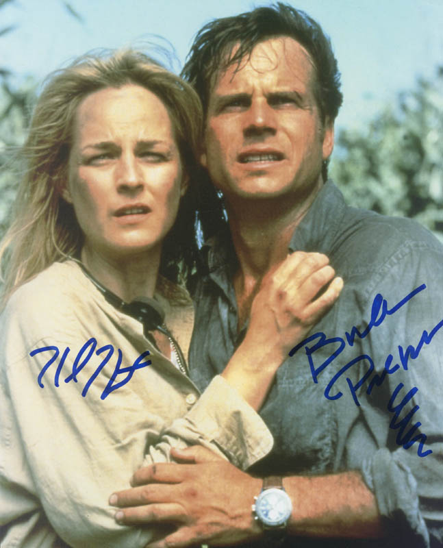 Twister movie cast photograph signed with cosigners for Twister cast