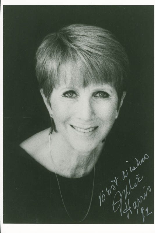 Image 1 for Julie Harris - Autographed Signed Photograph 1992 - HFSID 284011