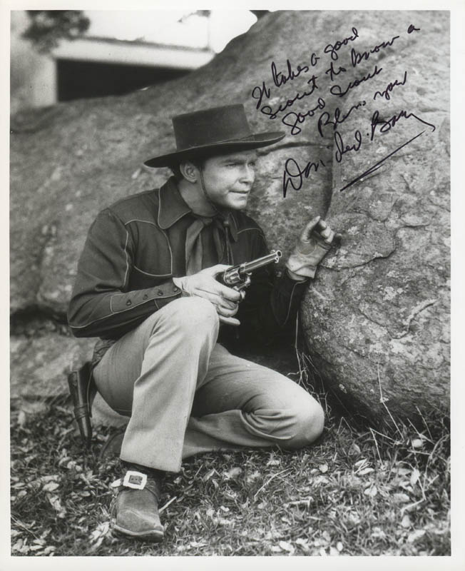 Image 1 for Don 'Red' Barry - Autographed Signed Photograph - HFSID 284183