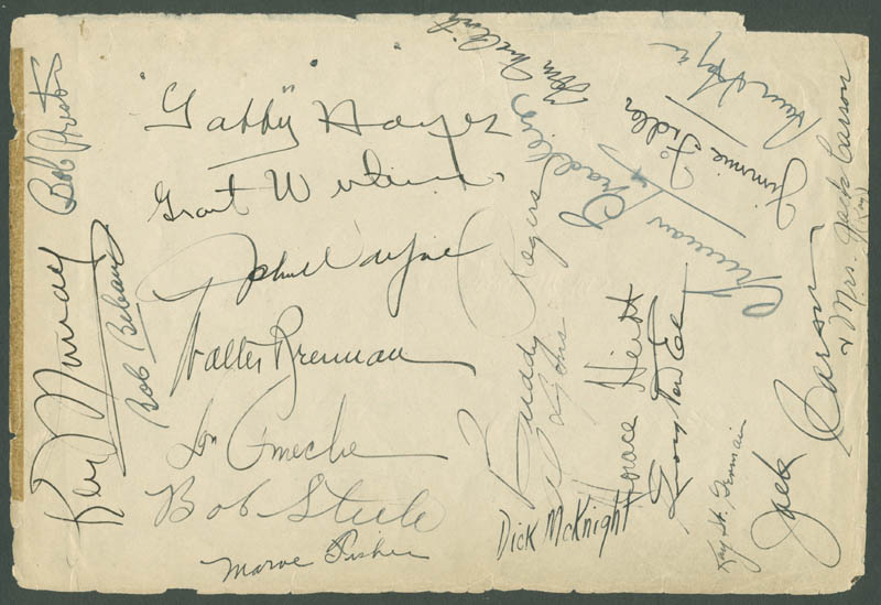 Image 1 for John 'Duke' Wayne - Book Page Signed with co-signers - HFSID 284202