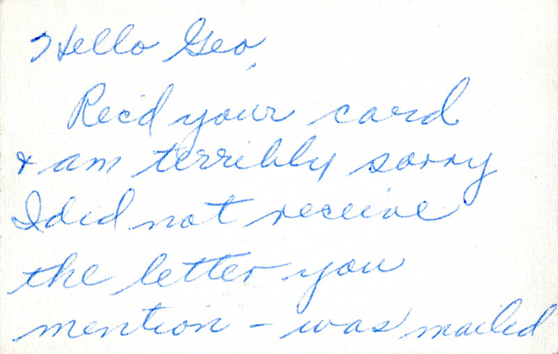 Image 3 for Carroll Baker - Autograph Letter Signed - HFSID 284203