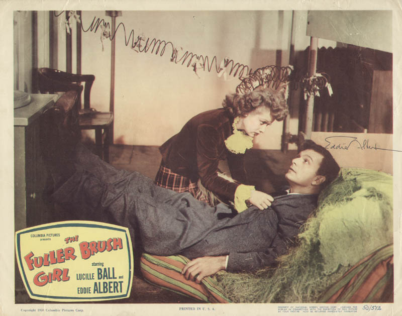 Image 1 for Eddie Albert - Lobby Card Signed - HFSID 284256