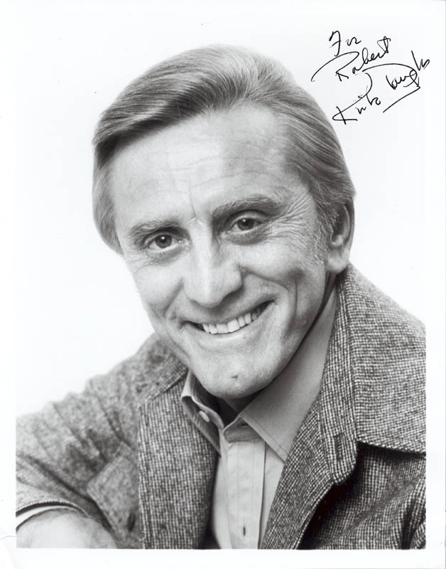 Image 1 for Kirk Douglas - Autographed Inscribed Photograph - HFSID 2843
