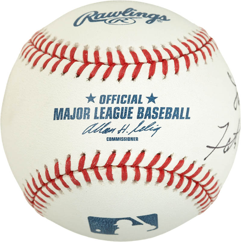 Image 3 for Fats Domino - Autographed Signed Baseball - HFSID 284348