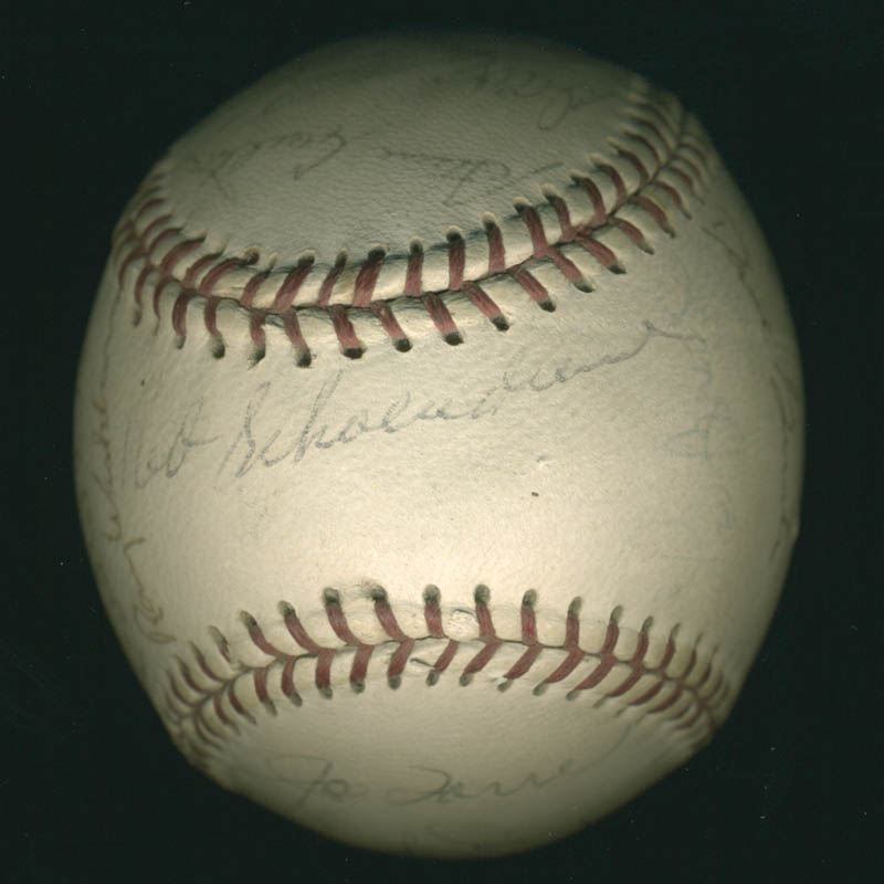 Image 1 for The St. Louis Cardinals - Autographed Signed Baseball with co-signers - HFSID 284366