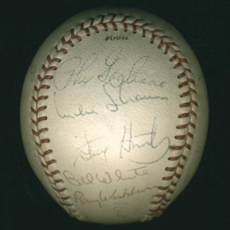 Image 3 for The St. Louis Cardinals - Autographed Signed Baseball with co-signers - HFSID 284366
