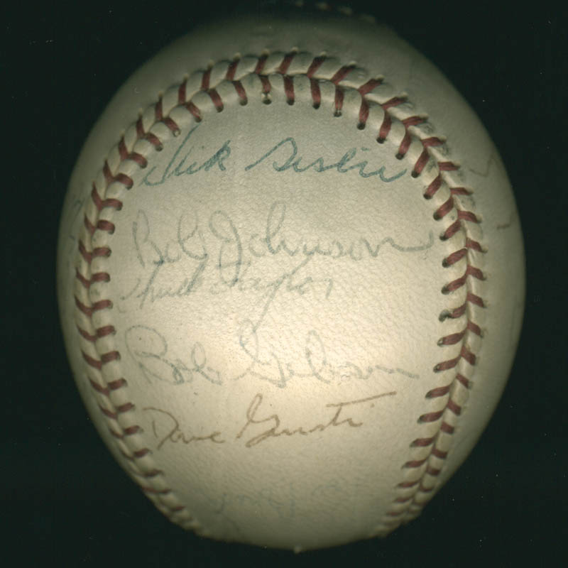 Image 4 for The St. Louis Cardinals - Autographed Signed Baseball with co-signers - HFSID 284366