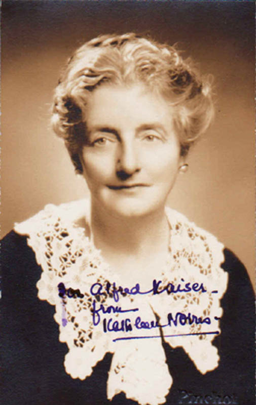 Image 1 for Kathleen Thompson Norris - Autographed Inscribed Photograph - HFSID 284434