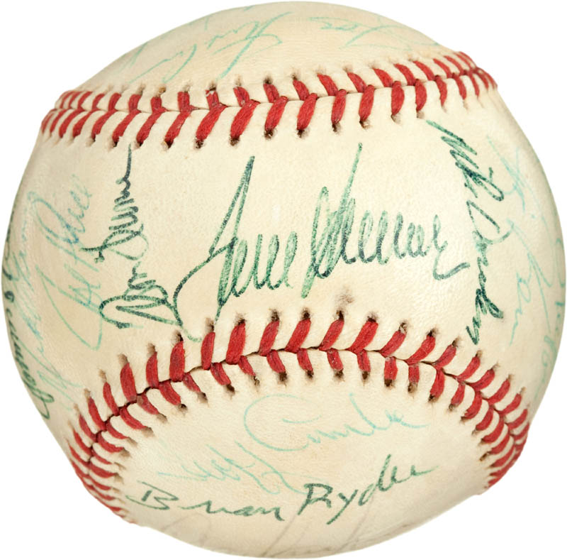 Image 1 for Cincinnati Reds - Autographed Signed Baseball with co-signers - HFSID 284442
