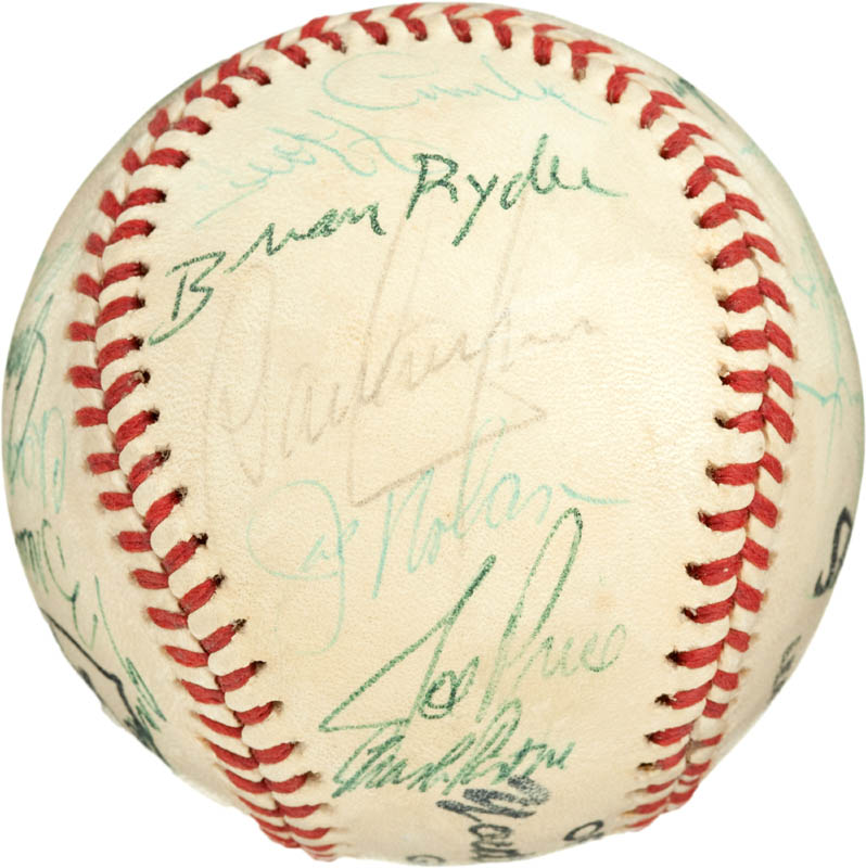 Image 3 for Cincinnati Reds - Autographed Signed Baseball with co-signers - HFSID 284442