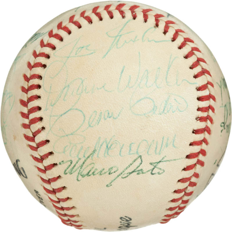 Image 4 for Cincinnati Reds - Autographed Signed Baseball with co-signers - HFSID 284442