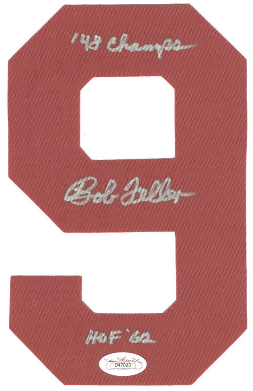 Image 1 for Bob Feller - Ephemera Signed - HFSID 284461
