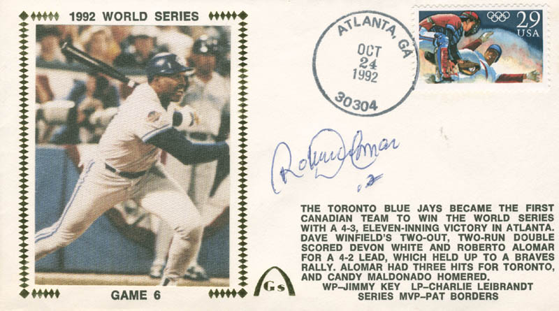 Image 1 for Roberto Alomar - Commemorative Envelope Signed - HFSID 284463