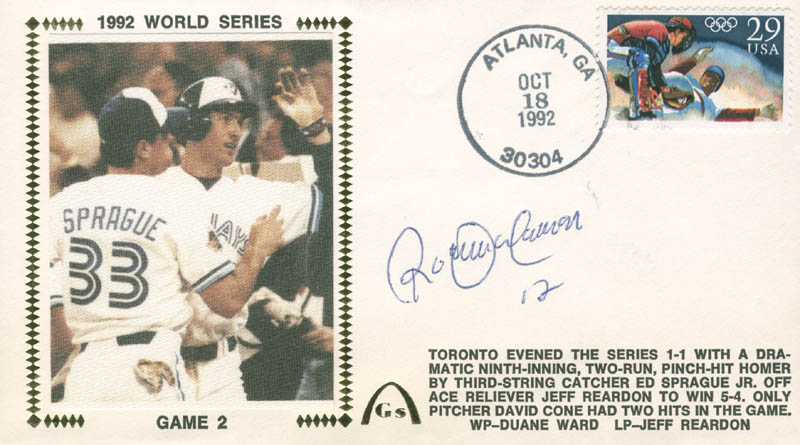 Image 1 for Roberto Alomar - Commemorative Envelope Signed - HFSID 284478