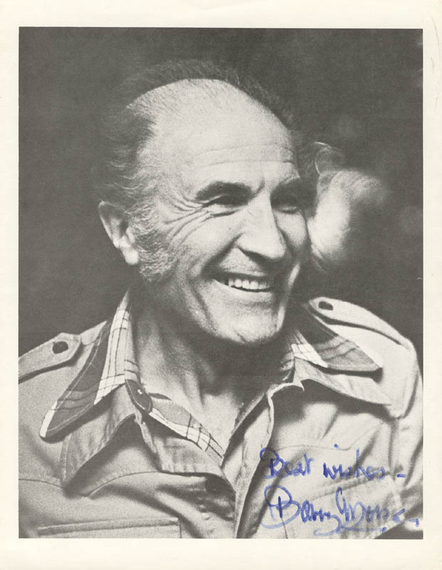 Image 1 for Barry Morse - Autographed Signed Photograph - HFSID 2845