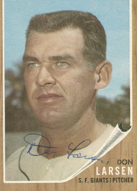 Image 1 for Don Larsen - Trading/Sports Card Signed - HFSID 284518