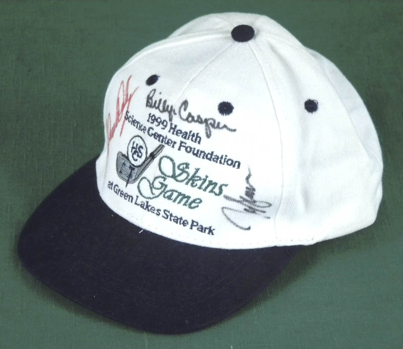 6e1ecc989ee ... Image 3 for Billy Casper - Hat Signed Circa 1999 co-signed by  John