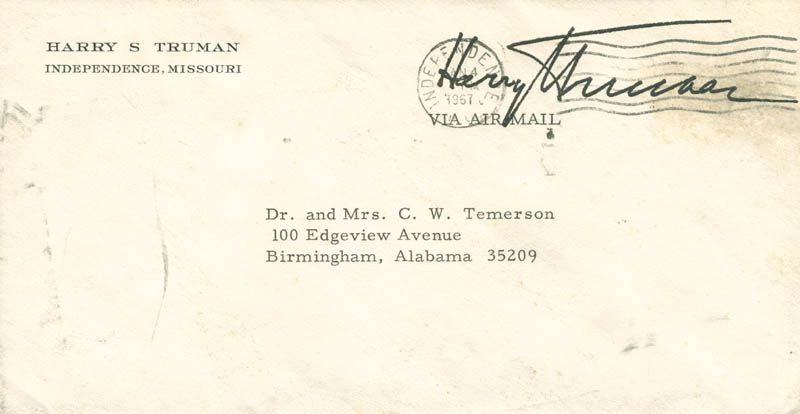 Image 3 for President Harry S Truman - Typed Letter Signed 01/04/1967 - HFSID 284639