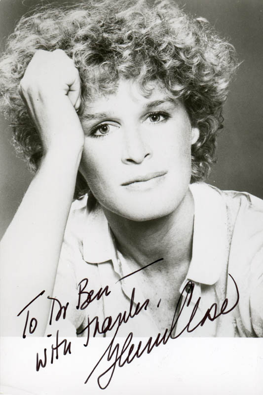 Image 1 for Glenn Close - Autographed Inscribed Photograph - HFSID 284650