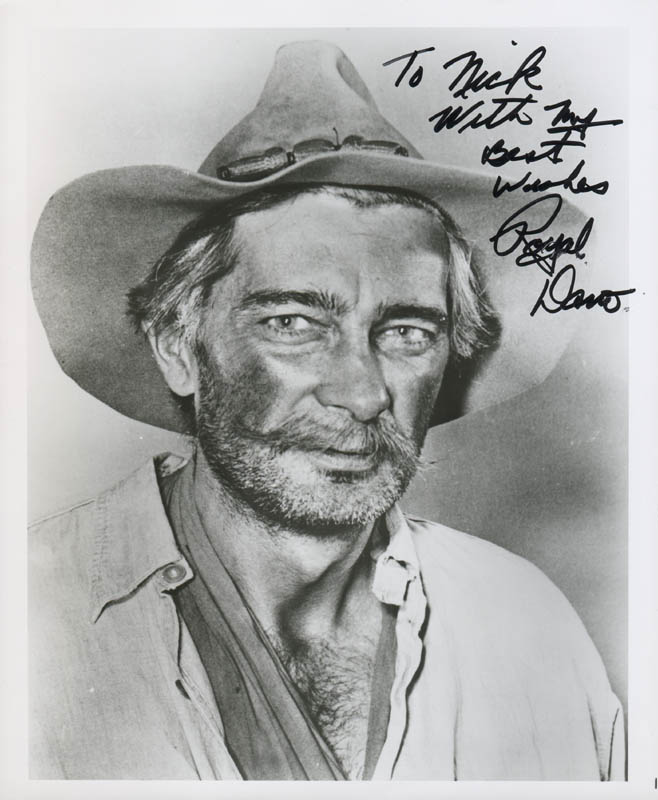 Image 1 for Royal Dano - Autographed Inscribed Photograph - HFSID 284675