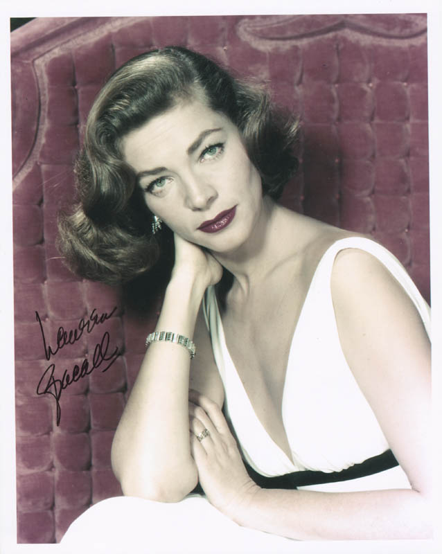 Image 1 for Lauren Bacall - Autographed Signed Photograph - HFSID 284714