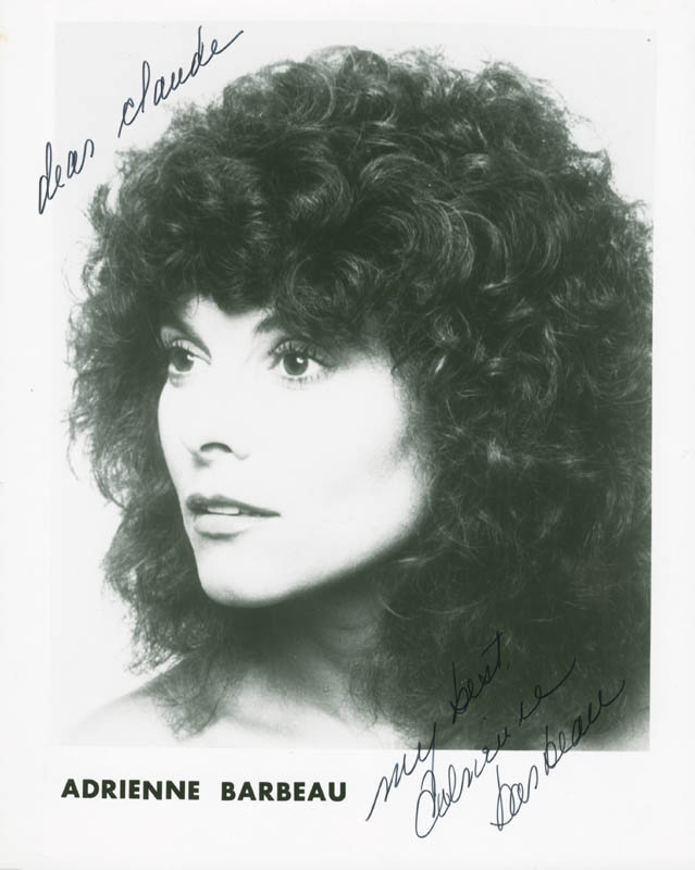Image 1 for Adrienne Barbeau - Autographed Inscribed Photograph - HFSID 284731