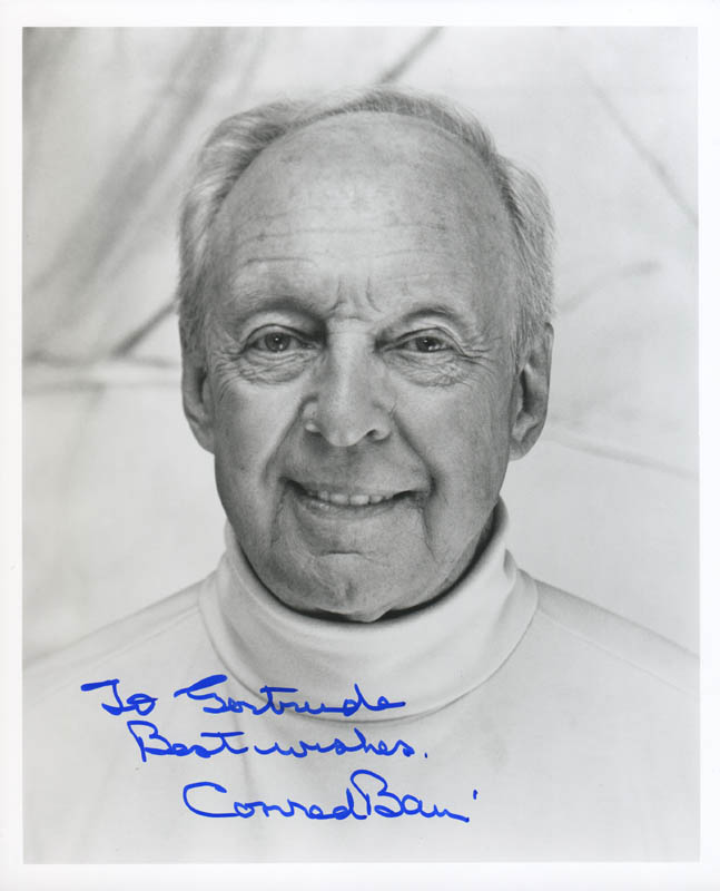 Image 1 for Conrad Bain - Autographed Inscribed Photograph - HFSID 284738