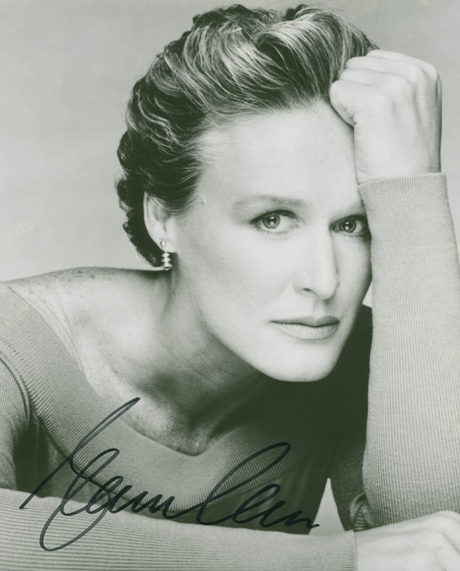 Image 1 for Glenn Close - Autographed Signed Photograph - HFSID 284770